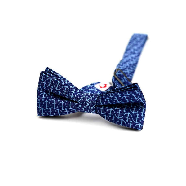 Bow Tie | Blue Anchors
