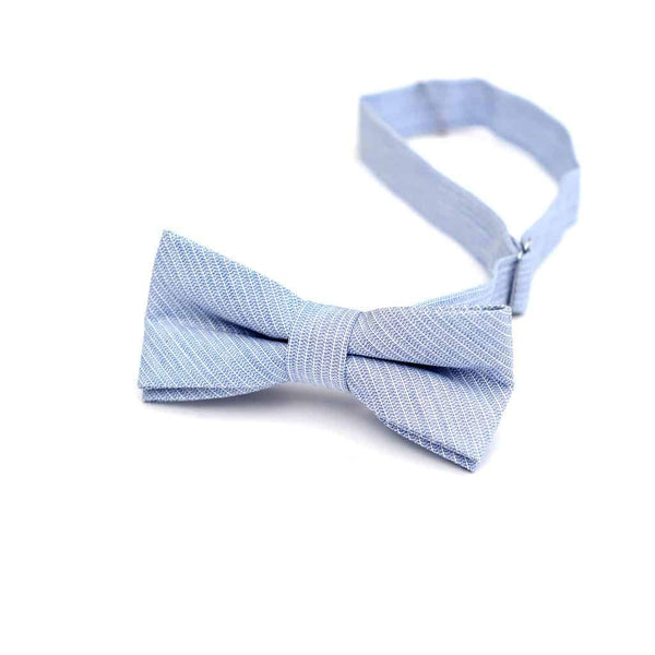 Bow Tie | Sky Blue Stripe