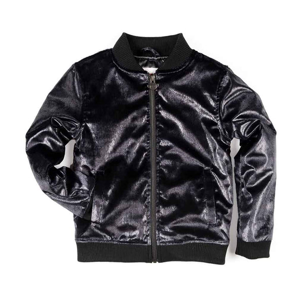 Nikki Bomber Jacket | Midnight Lux
