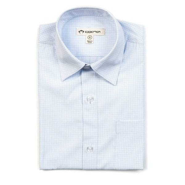 The Standard Shirt | Pale Blue Check
