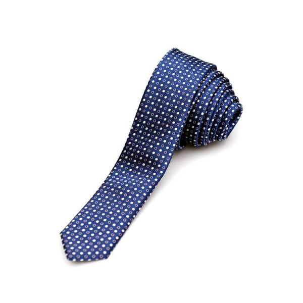 Tie | Navy Party Dots