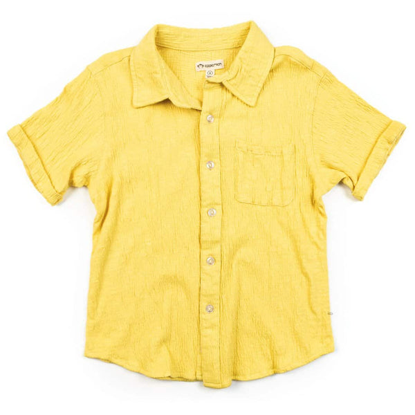 Beach Shirt | Yellow Cream