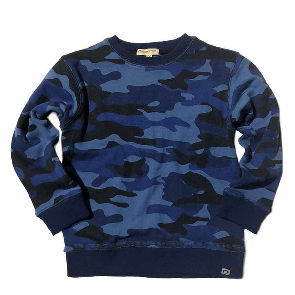 Highland Sweatshirt | Navy Camo