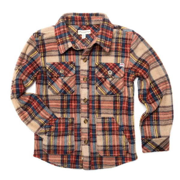 Snow Fleece Shirt | Windham Plaid