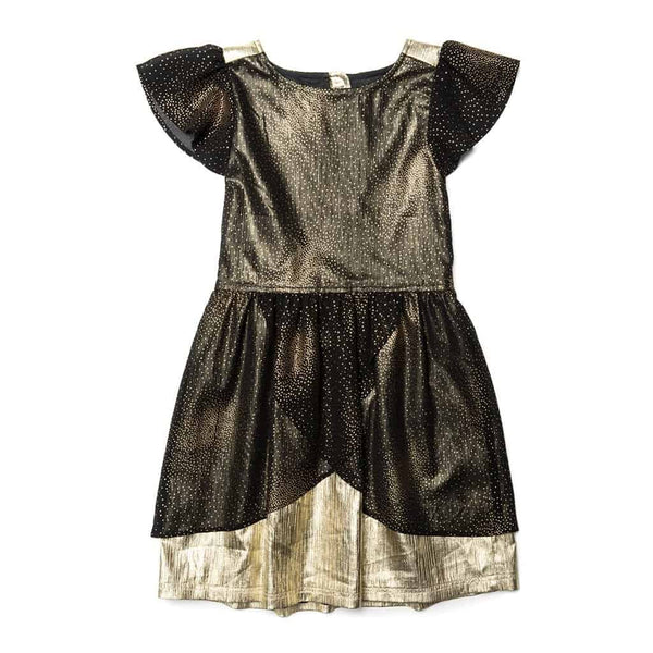 Nylah Dress | Gold Dust