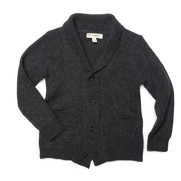 Shelby Cardigan | Charcoal Heather