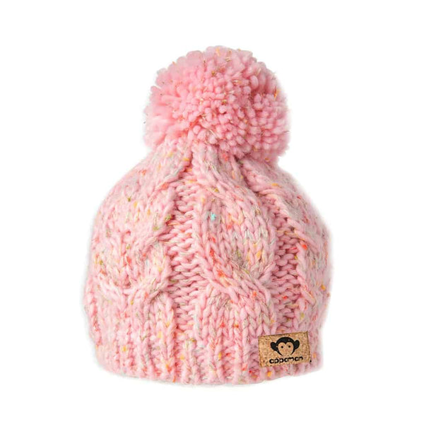 Cooper Beanie | Rose Bloom