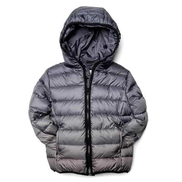 Featherweight Down Puffer | Grey Ombre