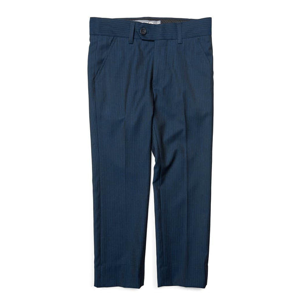 Suit Pants | Navy Pencil Stripe