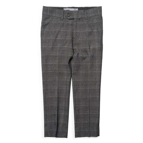 Suit Pants | Charcoal Glen Check