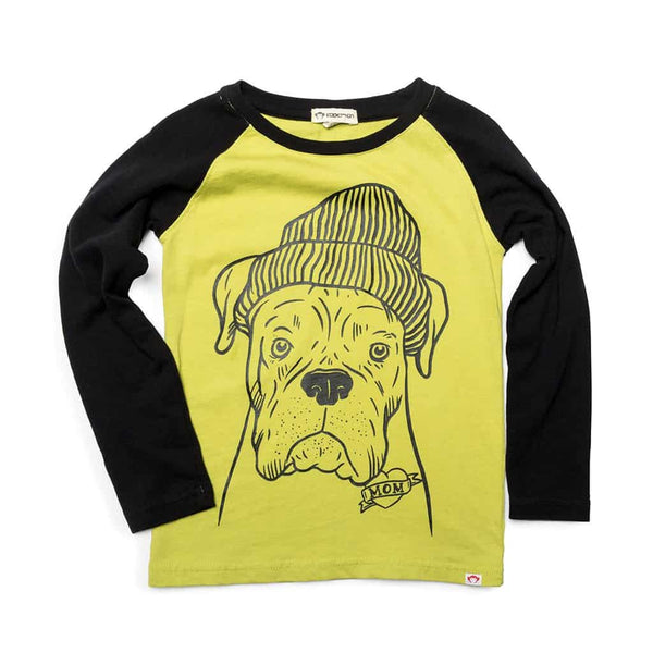 Raglan Long Sleeve | Chartreuse