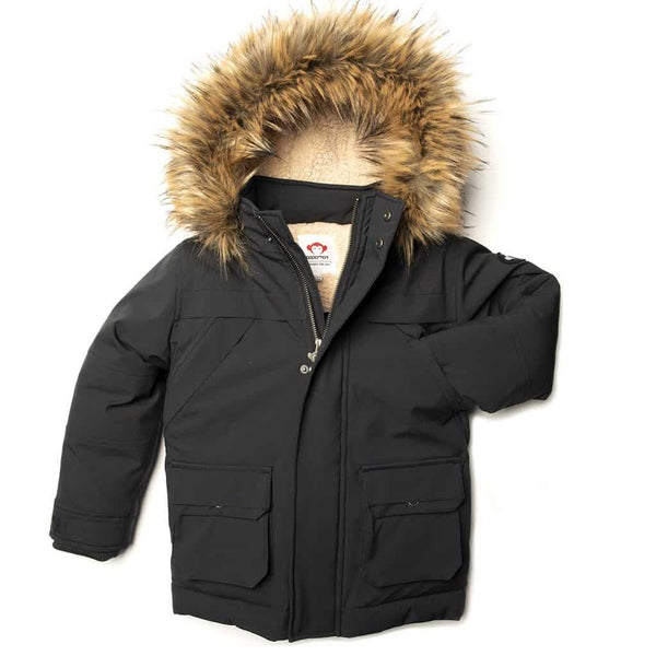 Denali Down Coat | Charcoal