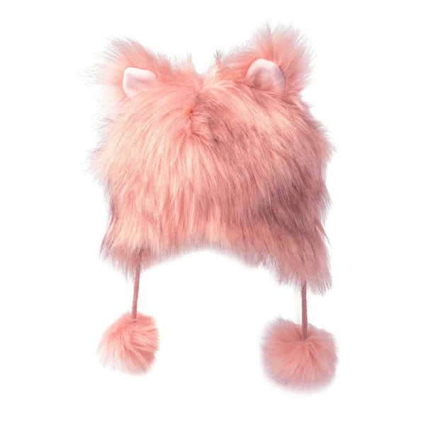 Fuzzy Hat | Rose Bloom