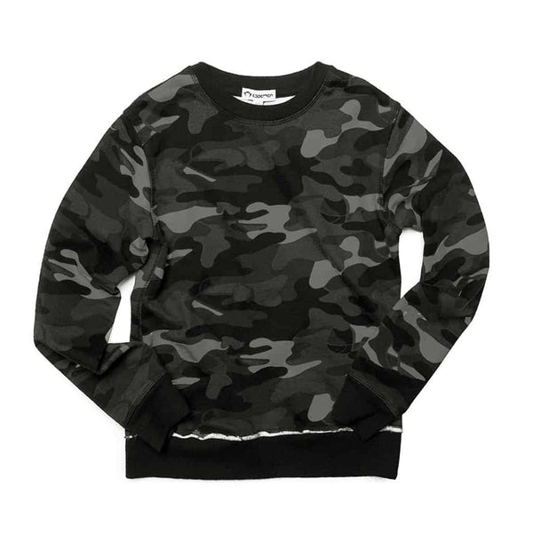 Highland Sweatshirt | Carbon Camo