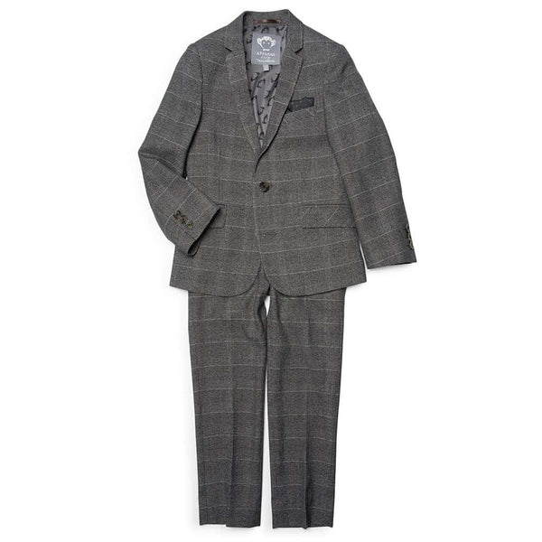 Mod Suit | Charcoal Glen Check