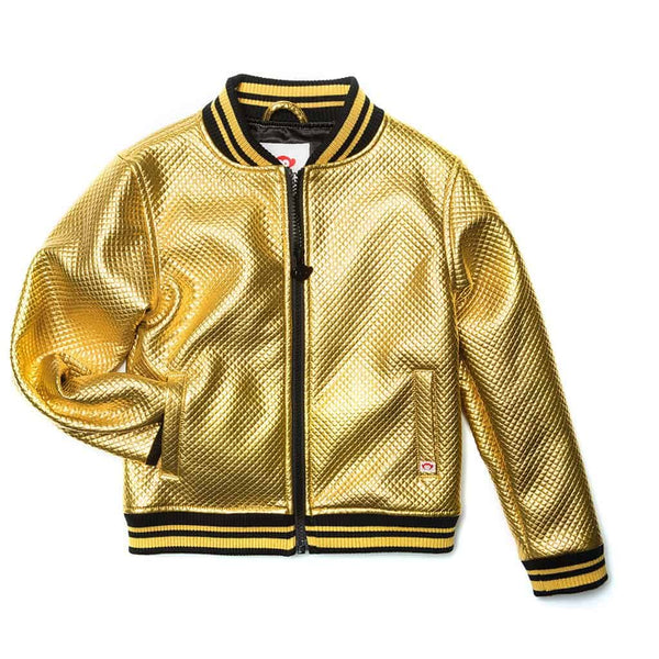 Nikki Bomber Jacket | Gold