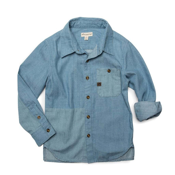 Brookdale Shirt | Light Blue Chambray