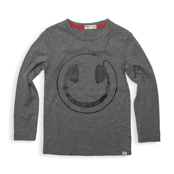 Happy Tunes Graphic Tee | Grey Heather