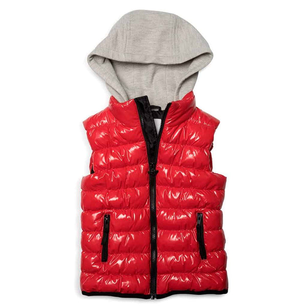 Apex Puffer Vest | Prize Red