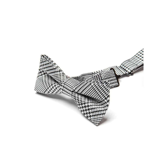 Bow Tie | Houndstooth Plaid