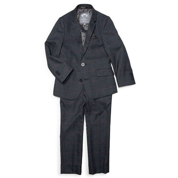 Mod Suit | Graphite Windowpane