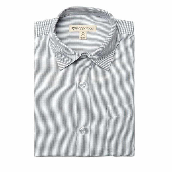 The Standard Shirt | Micro Windowpane
