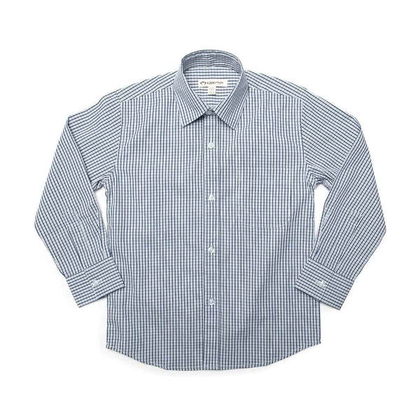 The Standard Shirt | Dark Navy Plaid