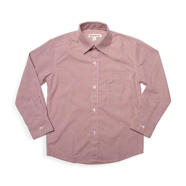 The Standard Shirt | Brick Red Check