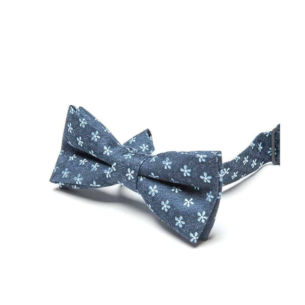 Bow Tie | Navy Bloom