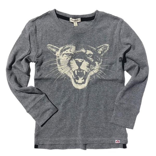 Wildcat Tee | Light Grey Heather