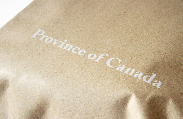 Province of Canada - Made in Canada - We've Never Been Happy With Our Packaging
