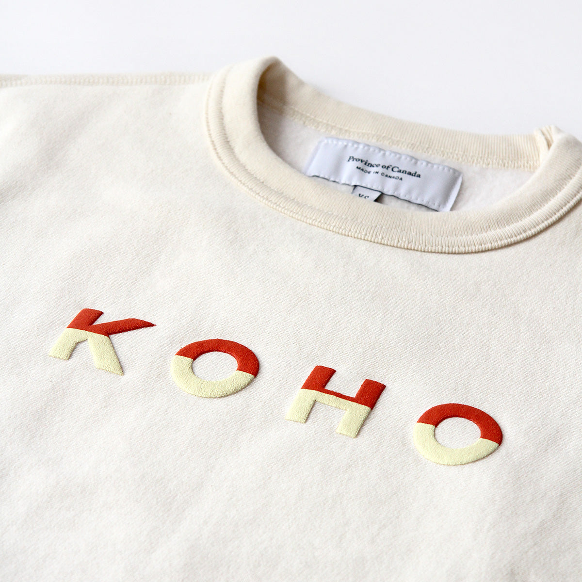 Province of Canada - KOHO Crewnecks - Made in Canada