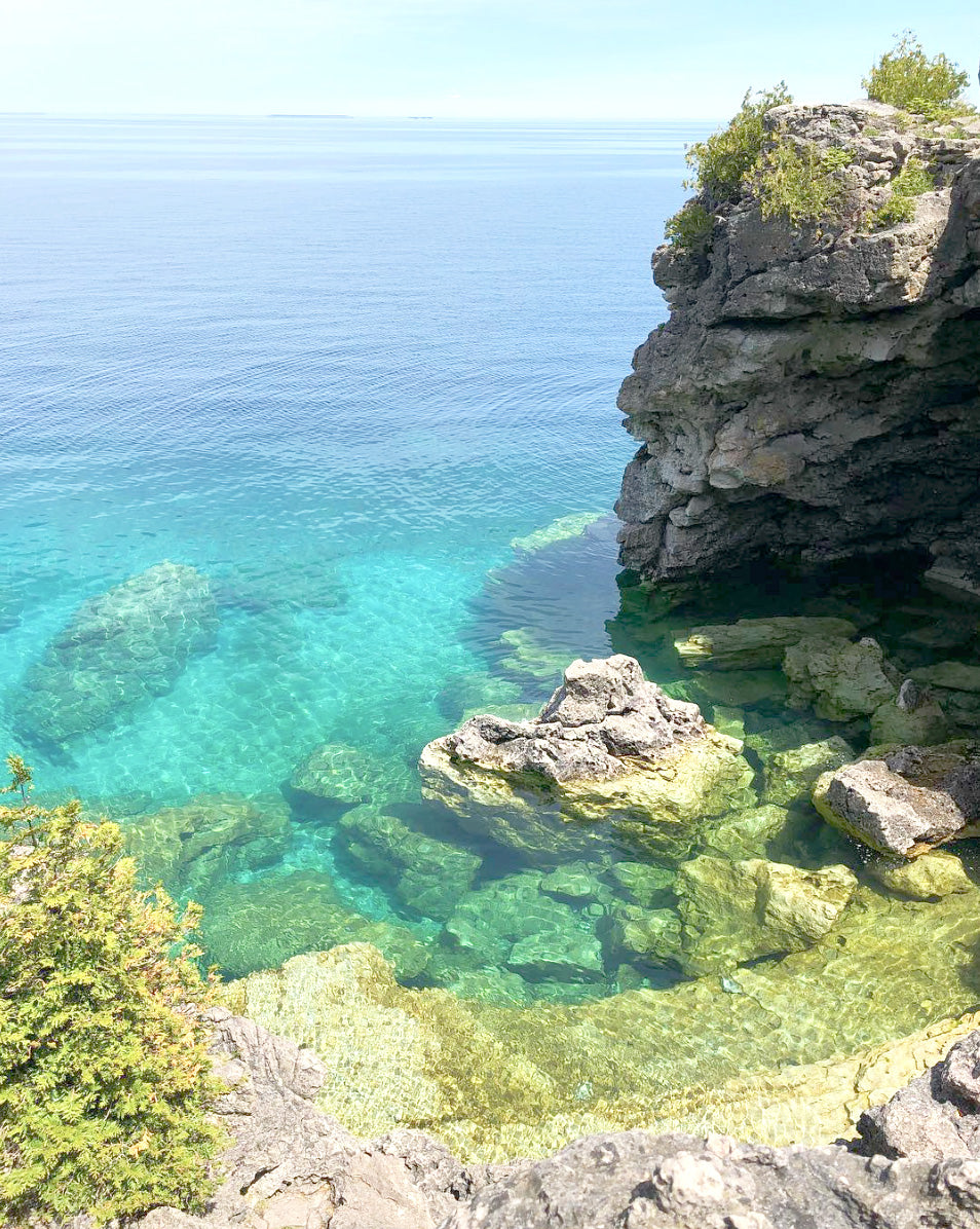 Province of Canada - Tobermory Grotto