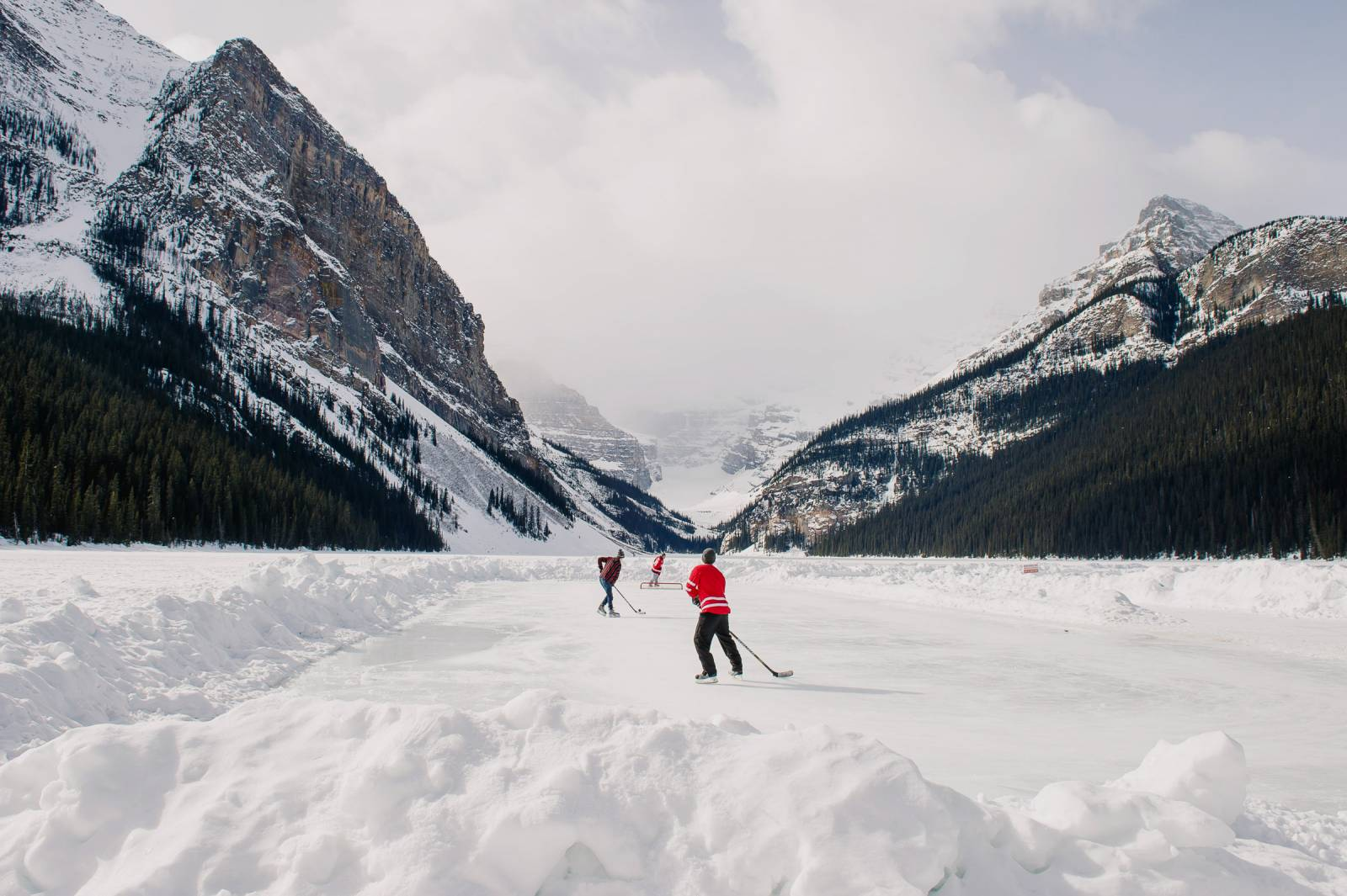 Province of Canada - Lake Louise Skating Rink
