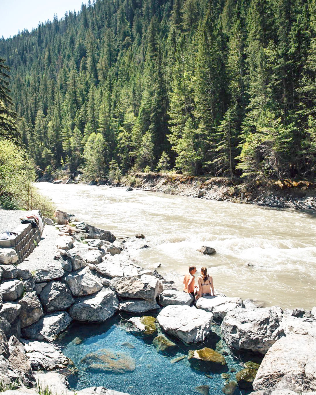 Province of Canada - Lussier Hot Springs