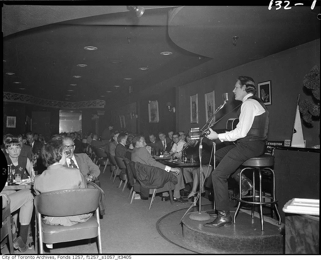 Province of Canada - City of Toronto Archives - Gordon Lightfoot at The Riverboat Coffee House