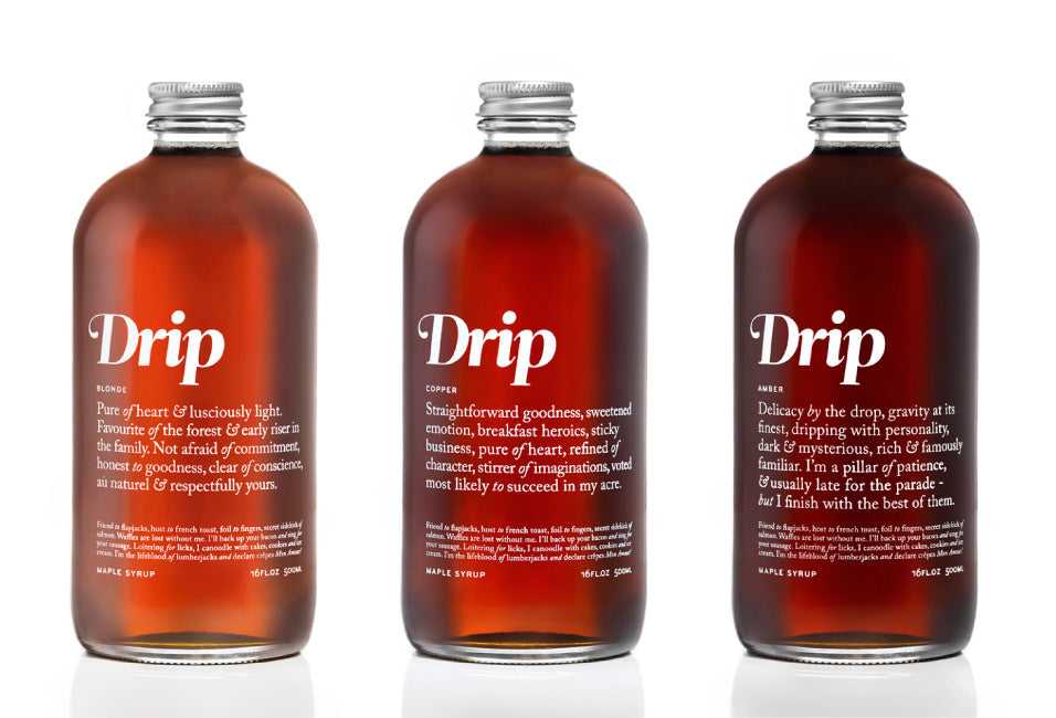 Province of Canada - Drip Maple Syrup
