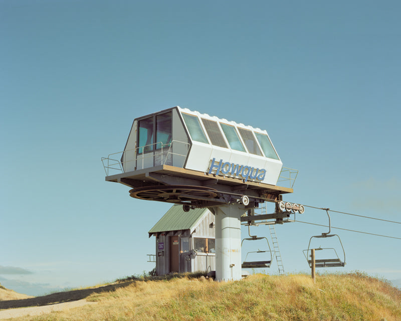Province of Canada - Ski Lift in Summer