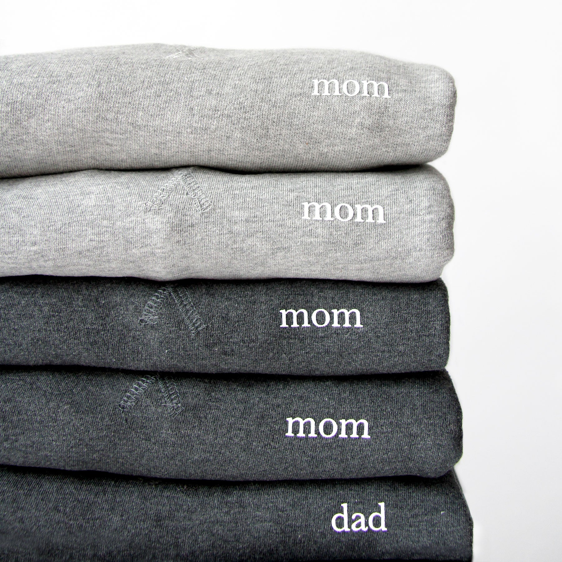 Mom and Dad Crewneck Sweaters – Province of Canada