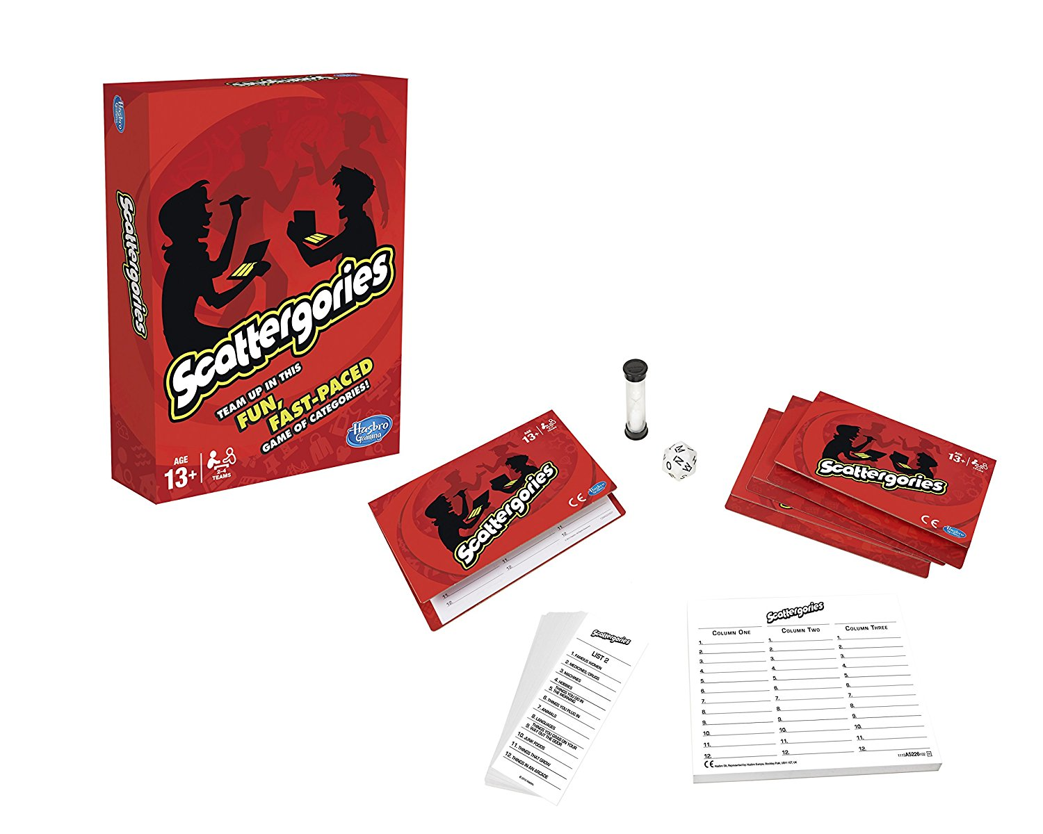Province of Canada - Scattergories