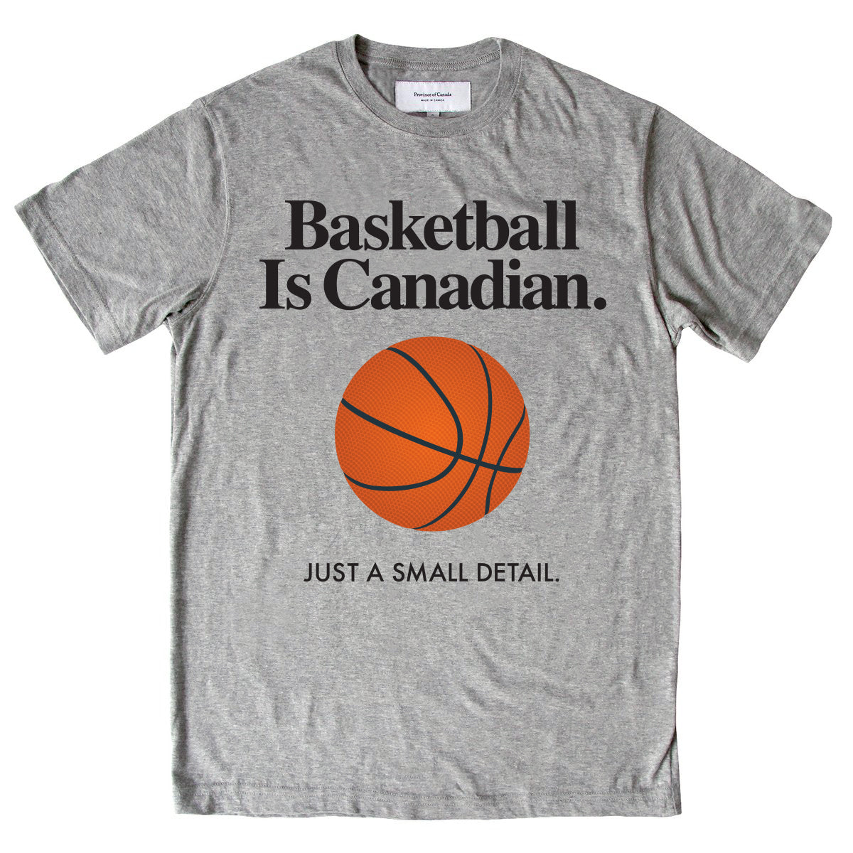 Province of Canada - Basketball is Canadian Tee