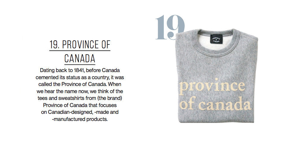 Province of Canada - Canadian Living - July 2017