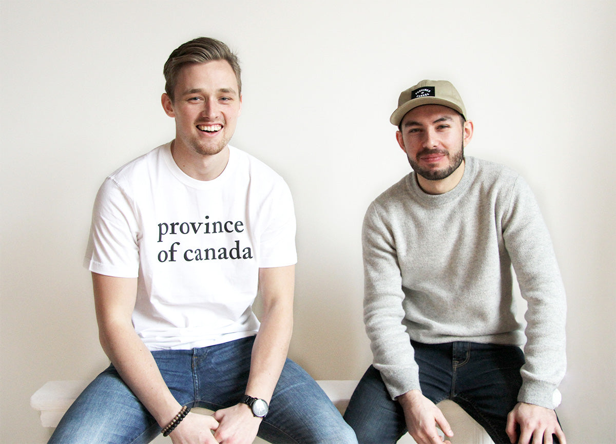 Province of Canada - Sean and Ryan Canadian Covers