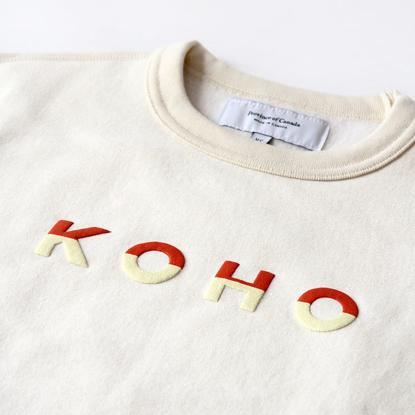 Province of Canada - Made in Canada - KOHO Crewneck Natural