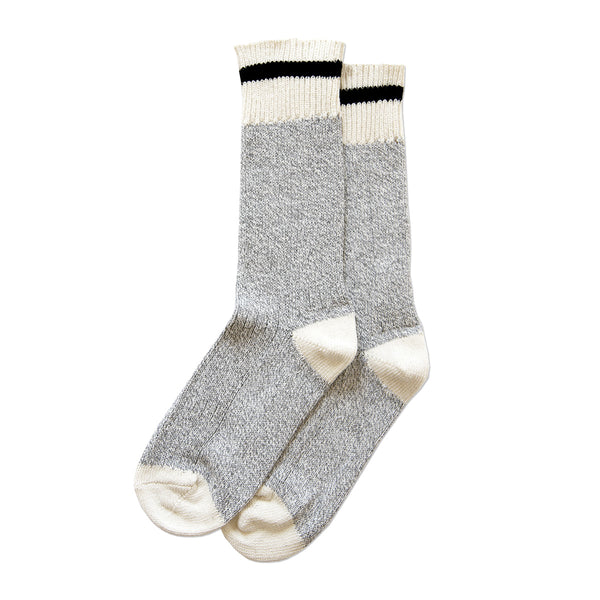 Province of Canada - Made in Canada - Black Stripe Cotton Sock
