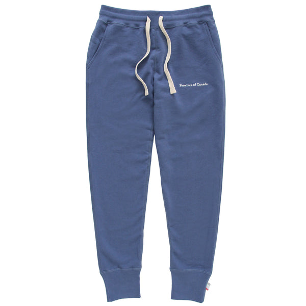 Skinny French Terry Sweatpant French Blue - Unisex