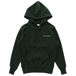 Province of Canada - Cross Grain Hoodie Forest Green - Made in Canada