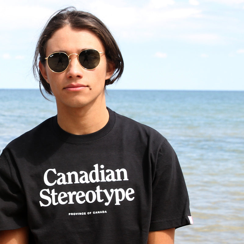Canadian Stereotype Tee - Province of Canada - Made in Canada