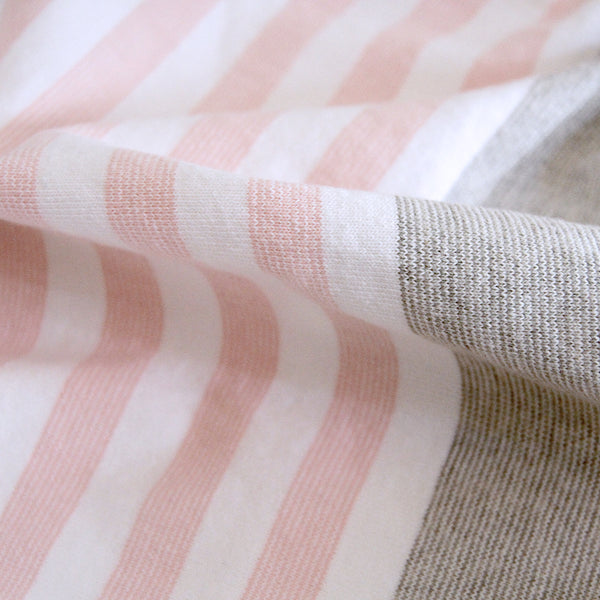 Cape Throw Blush - Cotton Throw - Made in Canada