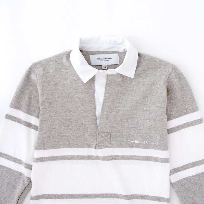 Celine Heather Grey/White Rugby Dress